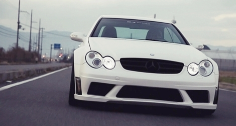 RK Design AMG W209 CLK63 Black Series